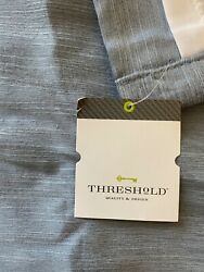 Threshold from Target Room Darkening Curtain Panel 63quot; x 52quot; New with Tags Blue