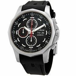 Corum A077-04176 Menand039s Admiraland039s Cup Black Automatic Watch