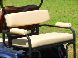 2 In 1 Combo Seat Kit In Buff For Club Car Ds Golf Carts 1982+