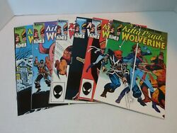 Marvel Comics Kitty Pryde And Wolverine Issues 1-6 Complete Limited Mini Series