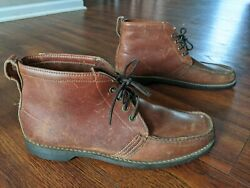 Vintage Gokey Gro-cord King B Sole Snakeproof Hiking Boots Shoes 13 A Usa Made