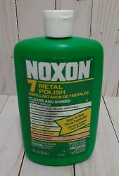 1 Noxon 7 Metal Polish And Cleaner Stainless Chrome Pewter Brass. 12 Oz. New.