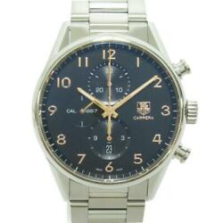 Tag Heuer Carrera Car2014.ba0799 Chronograph Stainless Steel Menand039s Watch [u0815]