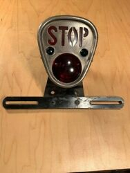 Nos 1920s Yankee Accessory Car Stop Tail Light Lamp