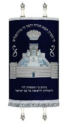New Mantle Costume Made Sefer Torah Cover Jewish Art Made Judaica Temple 2