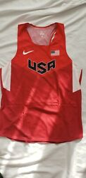 Nike Pro Elite Usa Distance Singlet Size Xl Brand New Rare Track And Field