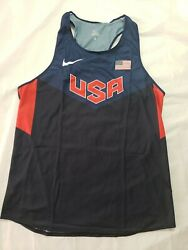 Nike Pro Elite Team Usa Singlet Size Large Brand New Track And Field