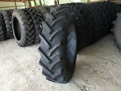 Two New 15.5-38 8 Ply R1 Tractor Tires