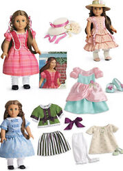 American Girl Doll Marie Grace Collection / Lot Nrfb