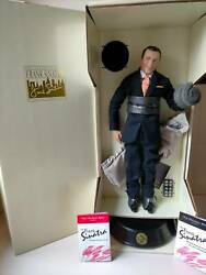 Frank Sinatra Posable Singing Doll Mint In Box .