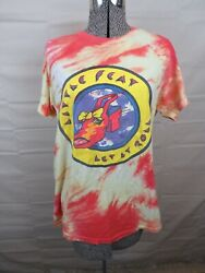 Rare Little Feat Let It Roll 1980 Tour T Shirt Xl California Tie Dyed Rock Roll