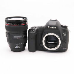 Canon Eos 5d Mark Iii Ef24-105l Is Usm Kit Shutter Count 1000 Shots