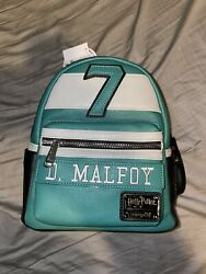 Draco Malfoy Loungefly Slytherin Mini Backpack Nwt Confirmed Order Preorder