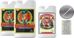 Advanced Nutrients Connoisseur Grow A And B 4 Liter And Carboload 4 Liter With