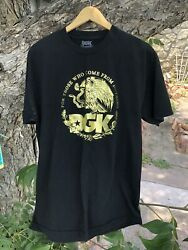 DGK Dirty Ghetto Kids quot;For Those Who Come From Nothingquot; Skateboard T Shirt Sz L $15.00