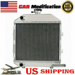 Aluminum Radiator For Sba310100211 Ford Compact Tractor 1300 Engine
