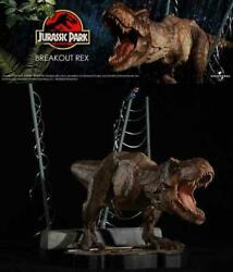 Chronicle Jurassic Park T-rex Statue Figure Limited To 1000 Items Rare Unused