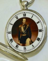 Imperial Russian Officer's Silver Vacheron Freres Pocket Watch.russo-turkish War