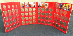 Soviet Union 68 Commemorative Coins Album 64 Rubles And 4 Kopek Full Collection