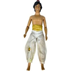 Disney Store 12 Doll Aladdin Doll - Articulated - For Parts Or Repair