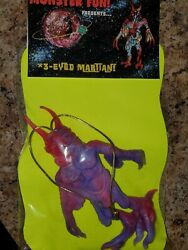 The Angry Red Planet 3-eyed Mutant Jiggler 8andtimes5 Figure New In Package...reduced
