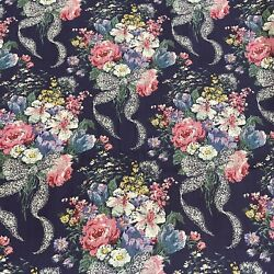 Vintage Daisy Kingdom Queen Anneandrsquos Lace Cotton Blend Fabric By The Half Yard