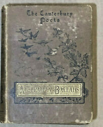 The Canterbury Poets Book Words Worth Antique 1885