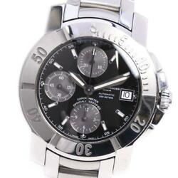 Baume And Mercier Capeland Self-winding Chronograph Stainless Menand039s Watch [u0820]
