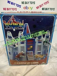 1984 Castle Of Lions Complete With Box Voltron Panosh Place Playset
