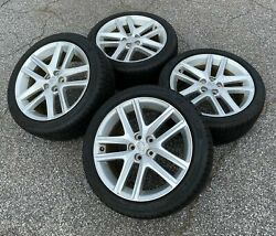 Set Of Four [4] Used Oem Lexus Is250 Is350 17 Takeoff Tires And Wheels 5x114.3