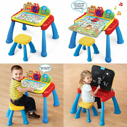 Vtech Touch And Learn Activity Desk Deluxe Frustration Free Regular