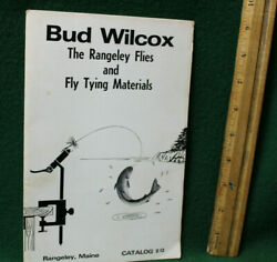 Bud Wilcox The Rangeley Flies And Fly Tying Materials Catalog 12 Be54