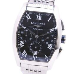 Longines Evidenza Chronograph L2.643.4 Stainless Chronograph Menand039s Watch [u0820]