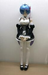 Re Life In A Different World From Zero Rem Figure Figurine 1/3 Scale Azone Used