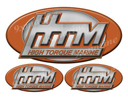 3 Htm Classic Vintage Stickers Remastered - 10 And 5 Long
