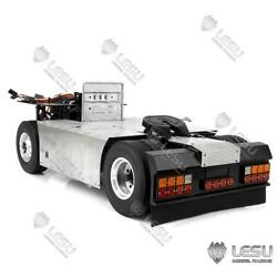 Metal 44 Chassis For 1/14 Rc Tamiya Scania Tractor Truck 27t Motor Servo Lights
