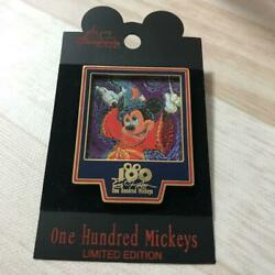 Walt Disney World Onehundred Mickey Pin Badge Limited To 3500 Eric Robison