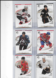 Mike Weber 2007-08 Sp Authentic Future Watch Rookie -complete Your Set