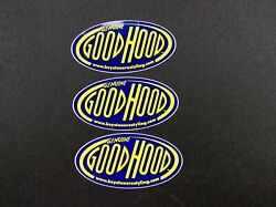3 Old Stock Decals Stickers Genuine Good Hood Keystone Restyling