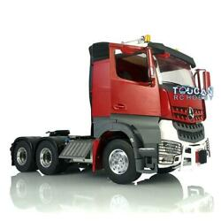 Lesu 1/14 Rc Metal 66 Chassis Warning Light Hercules Painted Cab Tractor Truck