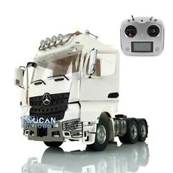 1/14 Lesu Rc Metal 66 Chassis Radio Light Hercules Actros Cabin Tractor Truck