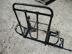 Used Tr Gear Spare Tire Carrier W/duel Jerry Can Mount Brks, For Hmmwv M998
