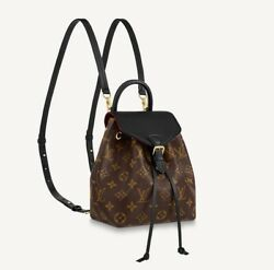 Real Nwt Louis Vuitton Crossbody Montsouris Bb Back Pack Noir Sold Out