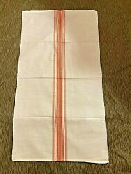 East German Ddr Malimo Hand Towel, Stasi Mfs And Mdi Kampfgruppen-unissued