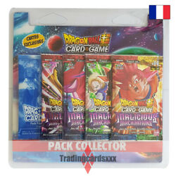 Dragon Ball Super Card Game - Pack Collector 4 Boosters Malicious Machinations