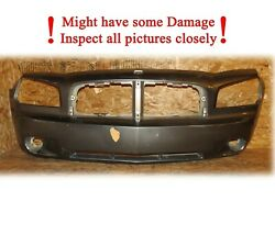 Oem 2006-2010 Dodge Charger Front Bumper Cover 06 07 08 09 10 Has Some Damage