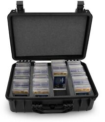 Cm Graded Card Case Storage Box For 120+ Bgs Psa Sports Trading Cards Waterproof
