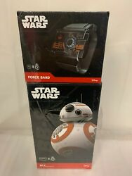 New Star Wars Bb-8 App-enabled Droid With Force Band Sealed - Rare Collectible