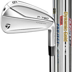 Taylormade P790 Custom 2021 Right Handed Irons - Pick Your Steel Shaft And Set