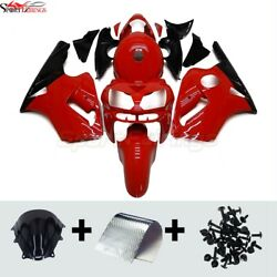 Red Black Motorcycle Abs Fairings For 2002 03 04 05 2006 Kawasaki Zx12r Zx-12r